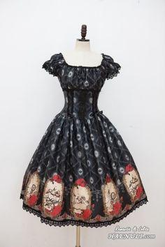 Haenuli Sleeping Beauty Basic Design OP /// $210 /// Bust:  Size 2 90-102cm Waist:  Size 2 70-82cm Length:  Size 1 & 2 107cm (includes lace)