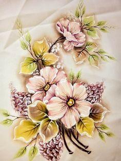 Floral Print Design, Floral Prints, Fabric Painting, Watercolor Paintings, Fabric Paint Shirt, Fabric Paint Designs, Paint Color Palettes, Mermaid Drawings, Acrylic Painting Techniques