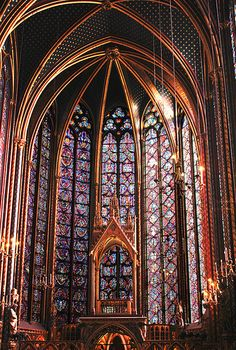St. Chapelle -- one of the most beautiful places in Paris (and that's saying a lot)
