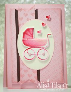Alisa Tilsner | Stampin Up Celebrate Baby | Around the World Stampin Up Challenges | Stampin Up Australia
