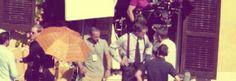 """Guy Ritchie sta girando a Roma il suo nuovo film intitolato""""The man from U.N.C.L.E.""""http://tuttacronaca.wordpress.com/2013/10/05/caccia-a-guy-ritchie-a-roma-ma-neppure-sherlock-holmes-lo-troverebbe/"""