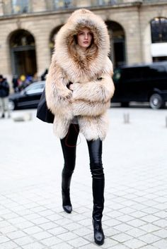 Fur Coat http://therubberdoll.com/