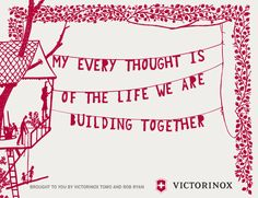 Thanks to Victorinox and of course the talented Rob Ryan . Rob Ryan, Paper Cutting, Cut Paper, Messages, Thoughts, My Love, Art, Art Background, Papercutting
