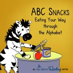 ABC Snacks: Eating Your Way through the Alphabet | All About Learning Press