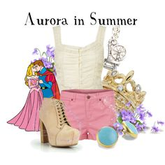 Aurora in Summer, created by agust20 on Polyvore