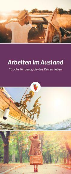 Hier einmal eine kleine Auswahl interessanter Jobs, die man weltweit ausüben kann - alle Infos via Urlaubspiraten.de