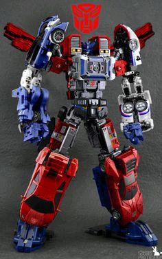 Optimus Prime as Motormaster. Jazz as Dead End. Sideswipe as Breakdown. Mirage as Drag Strip. Windcharger as Wildrider. Transformers Autobots, Transformers Action Figures, Transformers Toys, Gi Joe, Gta 5, Transformers Generation 1, Vinyl Toys, Retro Toys, Cartoon Pics