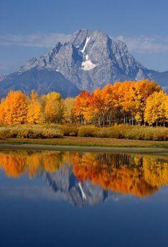 ✮ Mount Moran Reflections - Grand Teton National Park, Wyoming