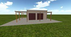 Cool 3D #marketing http://ift.tt/2e7Nb3d #barn #workshop #greenhouse #garage #roofing #DIY