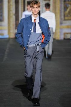 Kris Van Assche Spring 2015 Menswear Collection Slideshow on Style.com