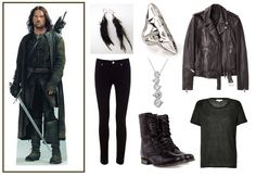 Simple Aragorn-inspired fashion. Very doable