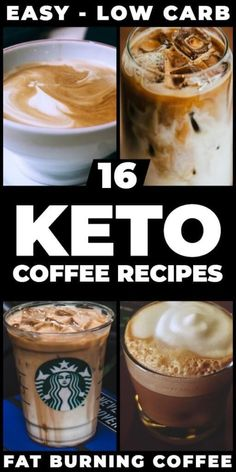 keto frappucino starbucks The ultimate collection of easy keto coffee recipes! From the best Bulletproof coffee recipes with Coconut Oil or MCT, to iced keto coffee Espresso Recipes, Coffee Recipes, Best Bulletproof Coffee Recipe, Café Vintage, Keto Coffee Recipe, Comida Keto, Starbucks Recipes, Starbucks Drinks, Keto Drink