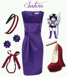 Sailor moon outfit - saturn; SHE'S MY FAVORITE AND I LOVE THIS OUTFIT