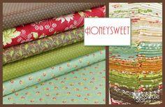 BEAUTIFUL!! Honeysweet by Fig Tree & Co for Moda