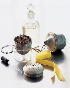 Easy fragrant tea balls for scenting drawers, closets, baths, etc.