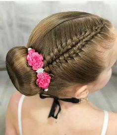 Cute Hairstyles, Braided Hairstyles, Girl Hair Dos, Hair Hacks, Her Hair, Ponytail, Natural Hair Styles, Braids, Hair Color