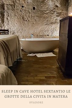 Sleep in Cave Hotel Sextantio Le Grotte della Civita in Matera, Basilicata. The term luxury is redefined at the cave hotel Sextantio Le Grotte della Civita located in the Sassi area of Matera. This albergo diffuso, or dispersed hotel, brings to life the history, atmosphere, life, and soul of i sassi recognized as a UNESCO World Heritage Site. Plan the rest of your trip through Italy and Puglia on travel blog svadore. #puglia #matera #basilicata #roadtrip #italy #italia #svadore #unesco… Travel Pictures, Cool Pictures, Cave Hotel, Travel Advise, World Travel Guide, World Heritage Sites, Travel Around The World, Trip Planning, Travel Inspiration