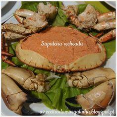Sapateira recheada - http://asreceitasdamaegalinha.blogspot.pt