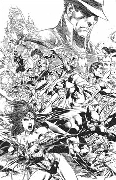 JUSTICE LEAGUE: TRINITY WAR—DIRECTOR'S CUT #1  Written by GEOFF JOHNS  Art and cover by IVAN REIS  On sale AUGUST 7 • 64 pg, FC, $5.99 US • RATED T  The War of the Justice Leagues is here—and now, DC Comics presents the first chapter in this epic event in a new Director's Cut, featuring Geoff Johns' original script from JUSTICE LEAGUE #22 and Ivan Reis' artwork presented in pencil form!