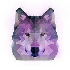 #polyart #wolf #poly #geometric