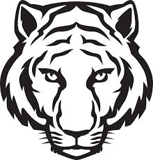 65 best tiger face images on pinterest funny stuff funny things tiger black and white tiger head black and white clipart publicscrutiny Images