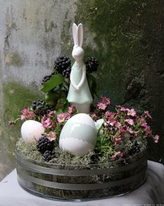 Easter decorations with eggs and bunny - easter decorations Krakow | Floral Concept Store
