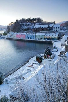 Portree Skye, Scotland