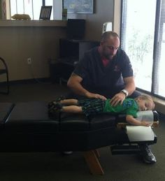 Mitch Healey with his son - starting out early with a healthy back! Arizona, Healthy, Cover, Health, Blankets