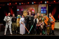 """The Marketing and Sales team did their update on promotions, contests, sales stats, RediCard stats, social media updates and more using the movie """"Star Wars""""!"""