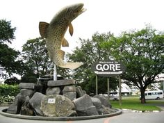 Gore Brown Trout - question... how many soccer balls were successfully kicked into the mouth of the famous brown trout?