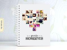 PhotoBook dia dos namorados, scrapbook, niver de namoro, casal, presente, namorada criativa, álbum de fotos, grandes momentos, memórias, personalizado, Estúdio Bix