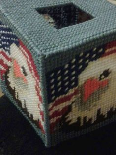 Check out this item in my Etsy shop https://www.etsy.com/listing/502036802/patriotic-tissue-box-covers