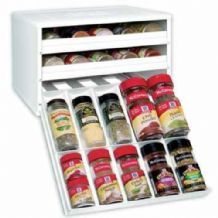Youcopia Spice Stack Drawer For 30 Spice Bottles