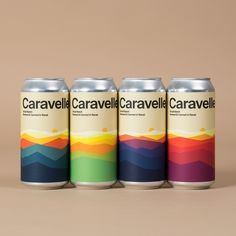 "Hey on Instagram: ""New can labels for @caravelle31 🍻 📷 @enricbadrinas #heystudio #beer #craftbeer #label"""