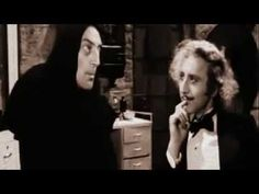 "▶ Mel Brooks' Young Frankenstein - ""Whose Brain I did put in?"" - YouTube @jael cash Abby Someone"