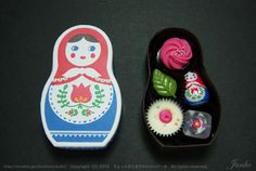 the cutest little russian doll candy box!
