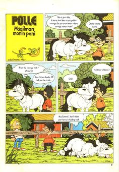 Polle comics by Lena Furberg