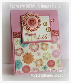 My Scrap Happy Life: A Happy Hello February SOTM Blog Hop by Tinal Lovell
