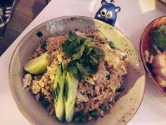 Silly Foodie in DC metro area writing all about the food scene in Washington DC, Maryland, and Virginia. Thai Tom Yum Soup, Crab Fries, Dc Food, Fried Rice, Washington Dc, Risotto, Tapas, Nom Nom, Restaurant