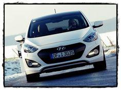 Hyundai i30 3-door 2013-White Front