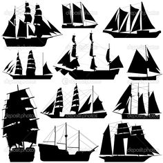 dep_8555463-Old-ship-vector.jpg (950×950)