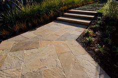 Russet Sandstone Select Paving and Stairs