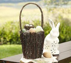 Twig Basket #potterybarn