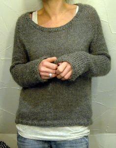"""Grasflecken:hand-knit """"il grande favorito"""" lounging sweater"""