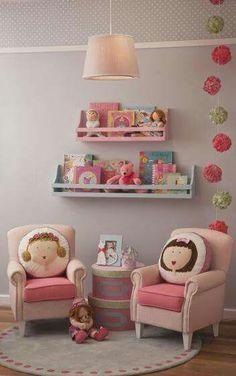 Children's Room Accessories - Decor Home Baby Bedroom, Girls Bedroom, Bedroom Decor, Girl Nursery, Nursery Decor, Bedroom Ideas, Princess Room, Daughters Room, Little Girl Rooms