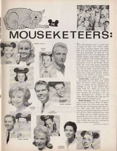 Tribute site for the Original Mickey Mouse Club Disney Mickey Mouse, Walt Disney, Great Artists, Music Artists, Original Mickey Mouse Club, Childhood Memories 90s, Vintage Disney, Vintage Tv, Annette Funicello