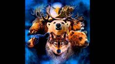 Calunga em : O Animal de Poder em você -   As cinco sombras (Gasparetto)