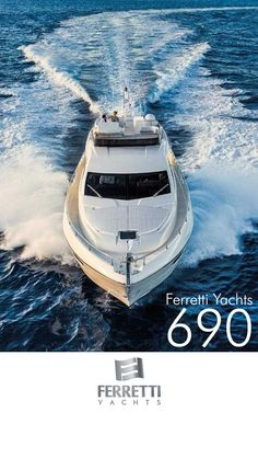 The #FerrettiYachts 690 wallpaper for mobile