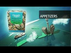 Ocean's Seafood Brands - 3D Animation project created by Go2 Productions