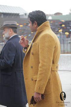 Casentino fabric for overcoat - Gentleman gazette